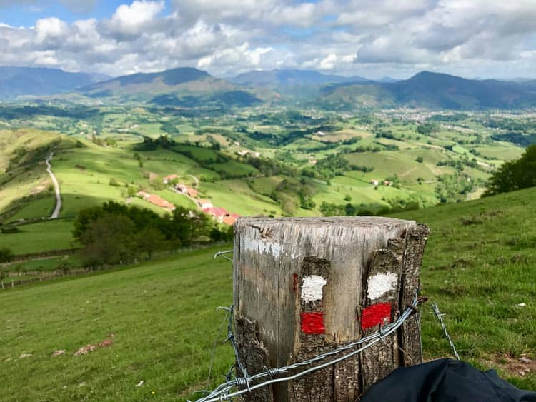 The start of the Camino in France