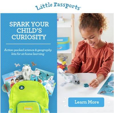 Little Passports activity bundle pack.