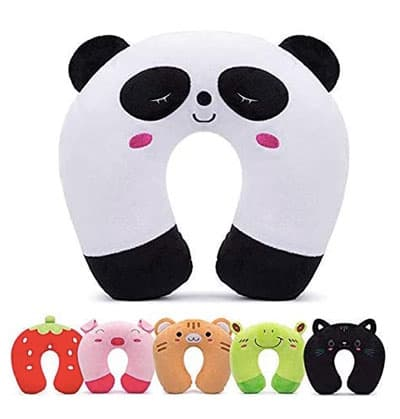 All the animal shapes for neck pillows