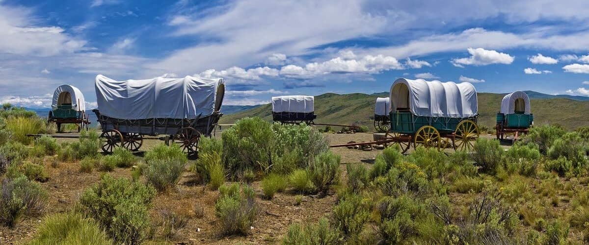Oregon Trail travel during Covid