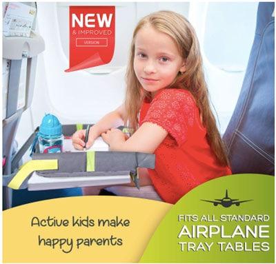 Plane activity travel tray