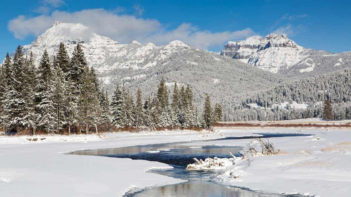 Wyoming in the Winter: Yellowstone, Hot Springs and History