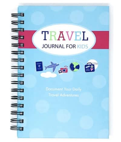 Kids can record all their adventure plans in this Travel Journal