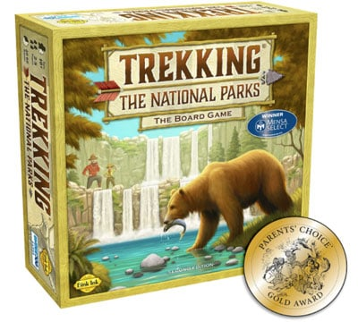 The Trekking National Parks board game
