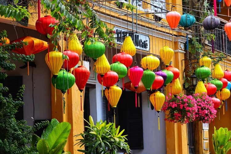 Lanterns of every color in Hoi An