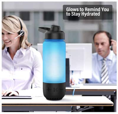 The smart water bottle is great for any age