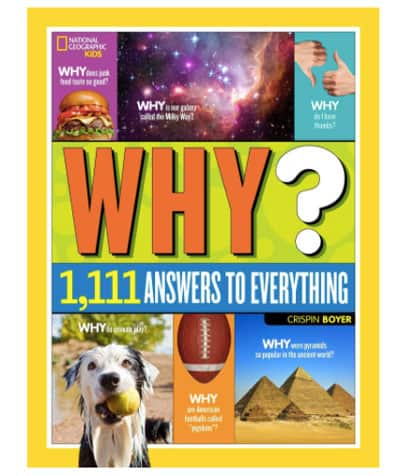 Engage kids curiosity with this National Geographic read