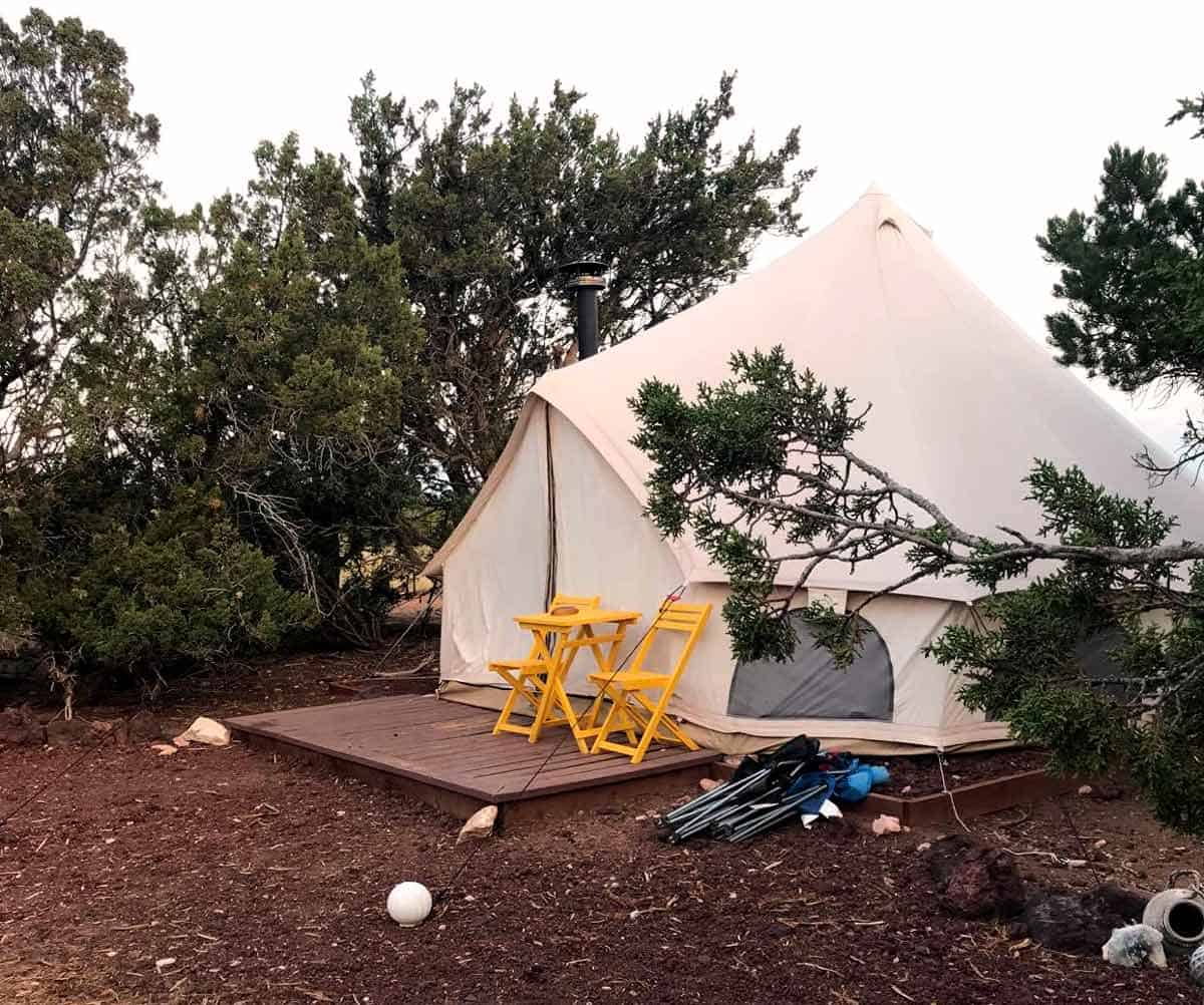 A Rooster, a Yurt and a Sunrise: Glamping in Arizona
