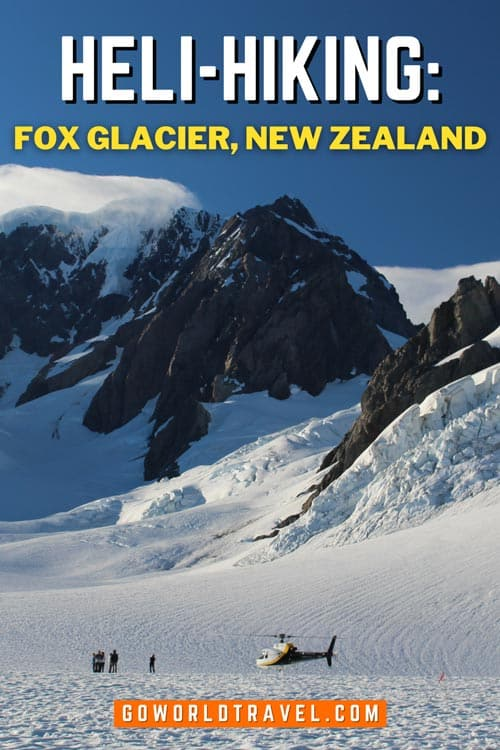 Ready to feel like you're on top of the world? Take a helicopter to one of the world's most accessible glaciers, Fox Glacier in New Zealand.