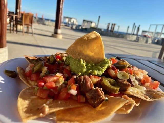 Pescado restaurant nachos
