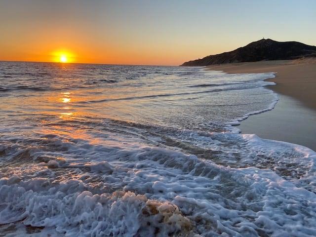 sunset Pueblo Bonito resort