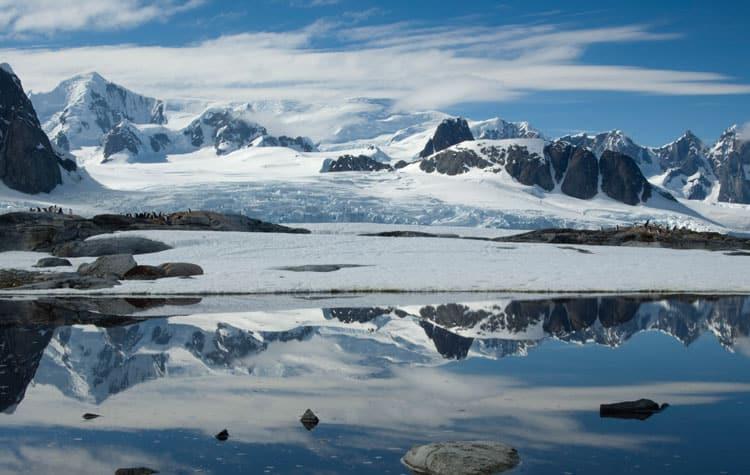 Peterman Island in Antarctica