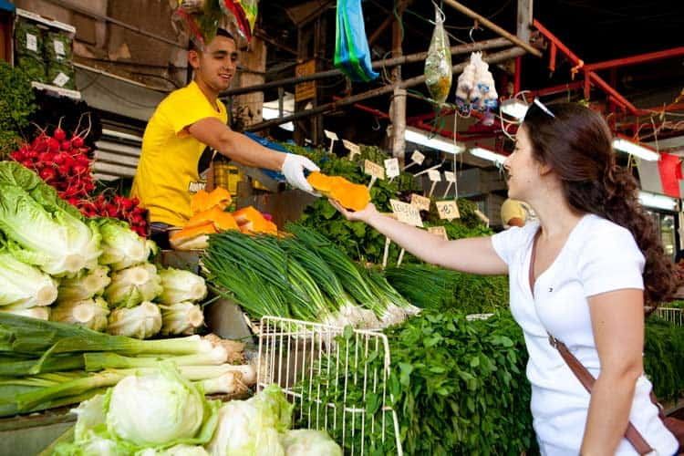 Tel Aviv Carmel Market.
