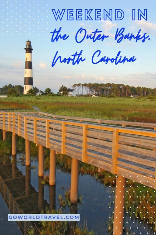 Filled with history and pristine beaches, Outer Banks, North Carolina features a treacherous yet beautiful coastline and will become your favorite relaxing vacation destination.