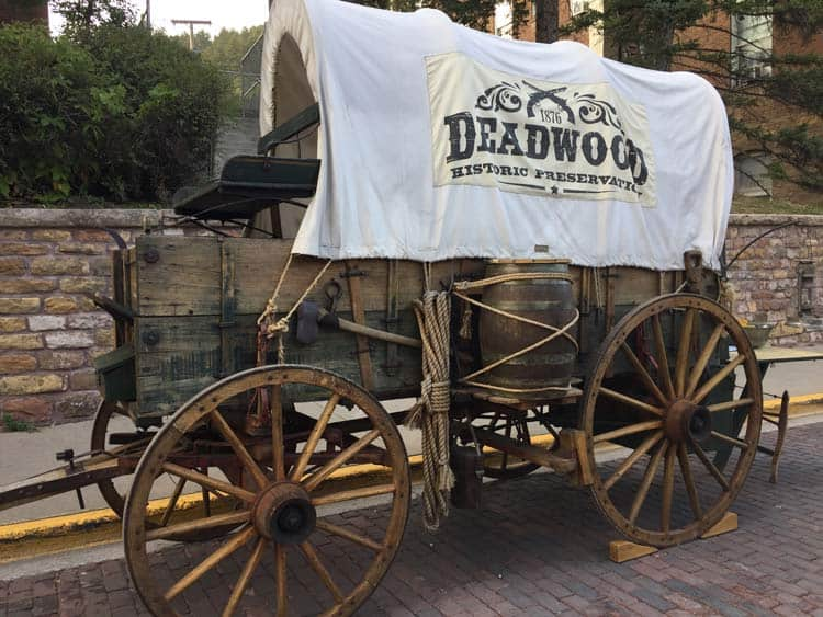 One of Deadwood's information centers.