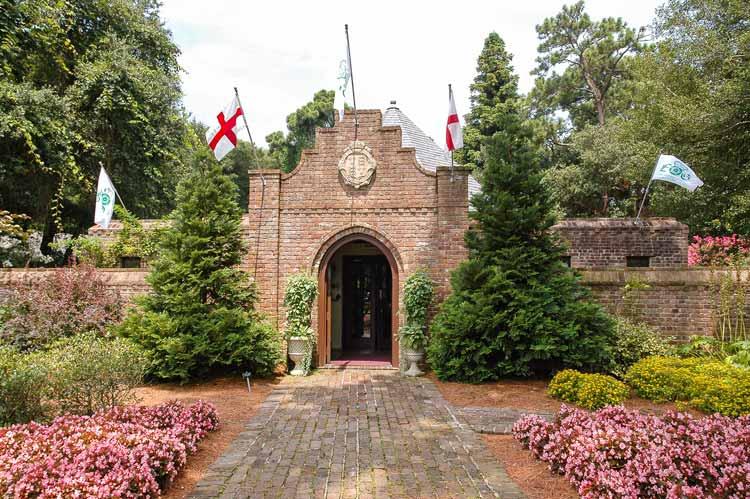 Elizabeth Gardens at Roanoke Island