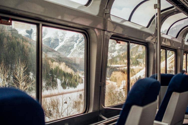 Bus ride to Glacier Village