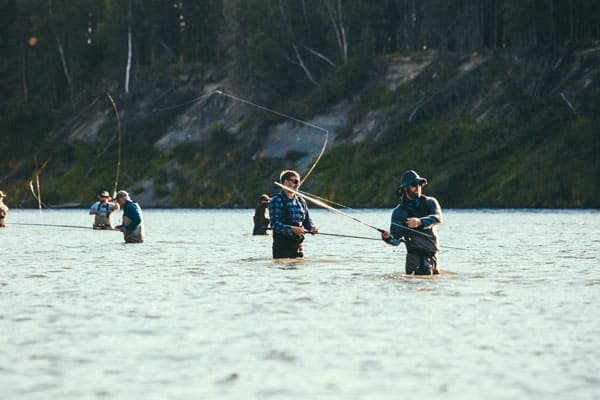 Fishing in Kenai