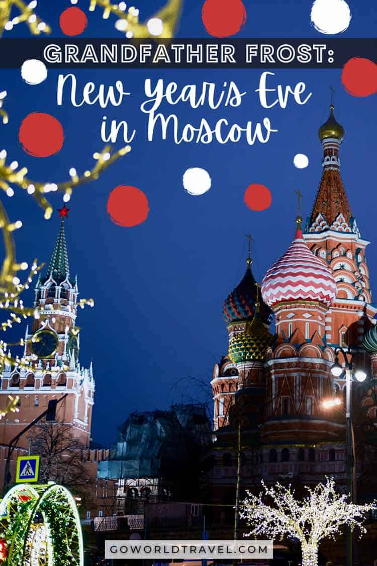 In Russia, New Year's Eve means good food, a walk on Red Square and presents from Grandfather Frost. Explore more of the holiday in Moscow.