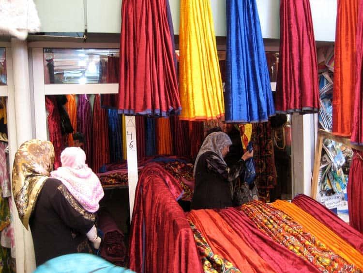 Shopping at Abu Saxiy Market