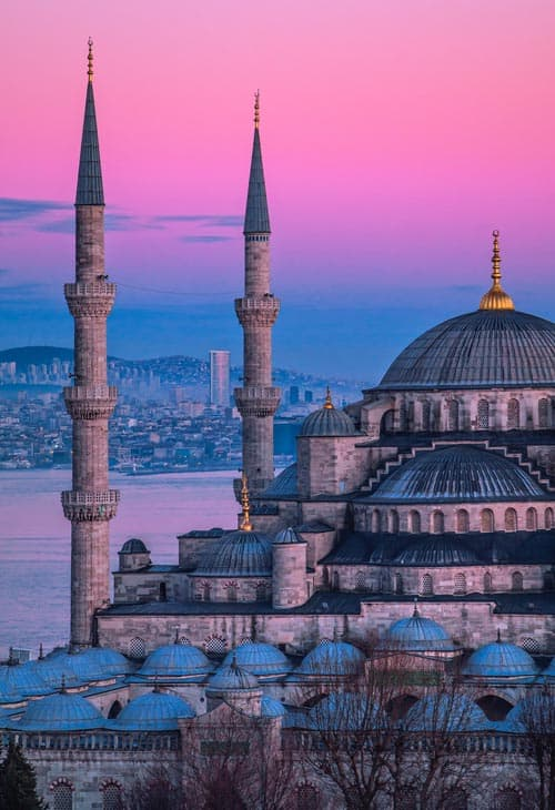 A view of the architecture in Turkey that American travelers can see during the pandemic