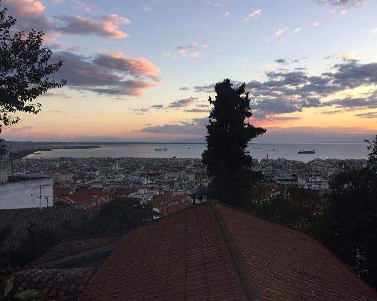 Overlooking The Church of Hosios David