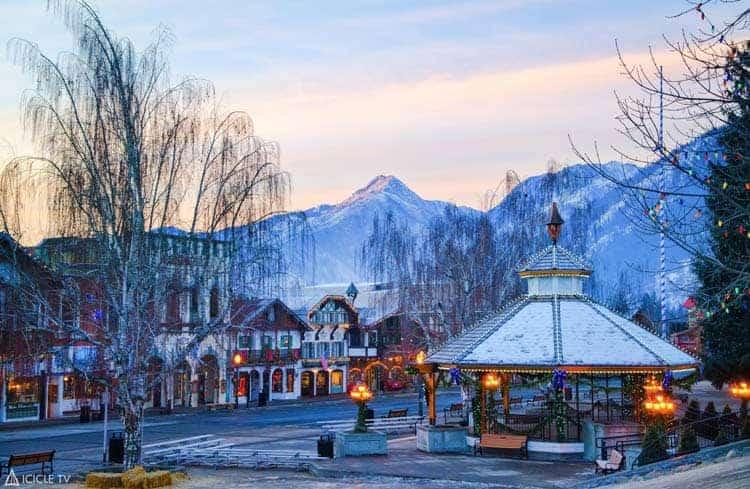 A Bavarian inspired village in Leavenworth, Washington. Photo courtesy of Leavenworth