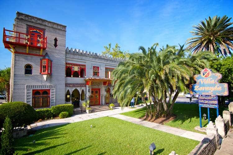 Villa Zorayda Museum in Florida. Photo by Florida's Historic Coast