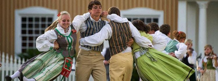 Lindsborg Swedish Dancers in Lindsborg, Kansas. Photo by Visit Lindsborg.