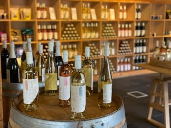 Taste the selection of wines from the RGNY Vineyard