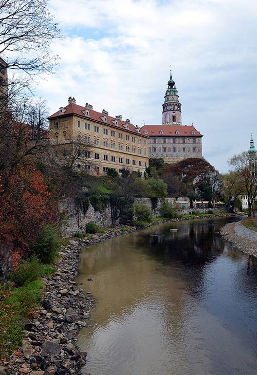 Cesky Krumlov in the Czech Republic features fairytale-like castles. Photo by Jason M. Ramos