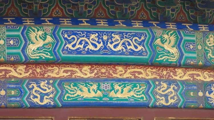 The outstanding detail work of Temple of Heaven
