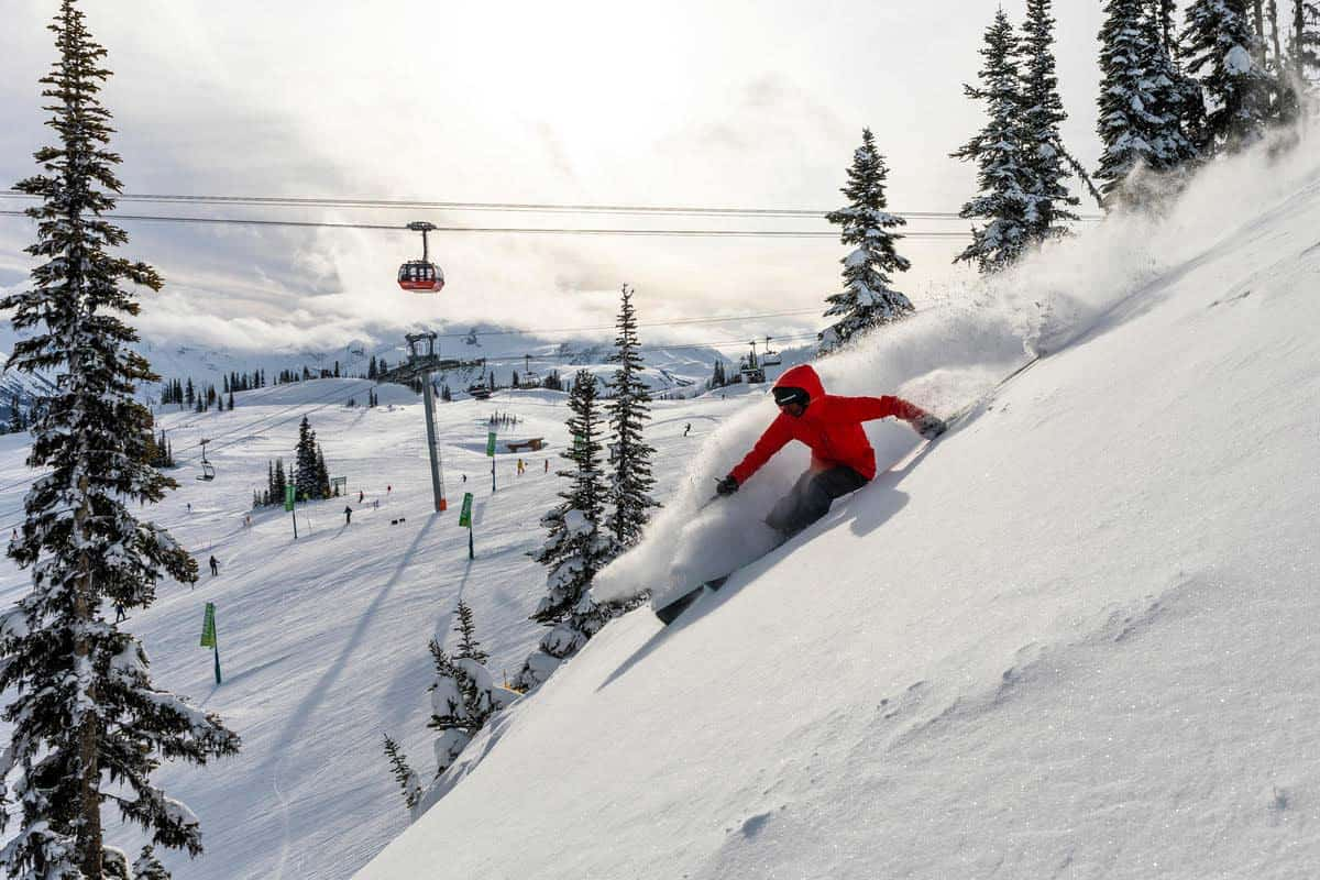 Winter at Whistler: Olympic Level Skiing in British Columbia