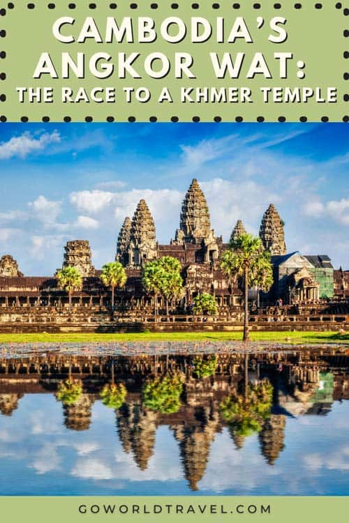Join the hordes for a sunrise view of Cambodia's famous temple, Angkor Wat. Visit in summer and you're sure to miss a lot of other tourists.