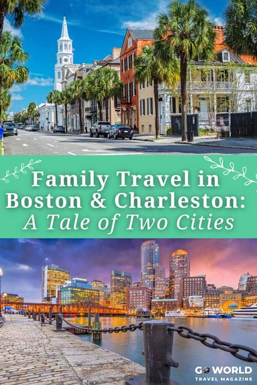 More than a century ago, Boston and Charleston were at war. These great cities introduced my family to Civil War history—in a fun way.