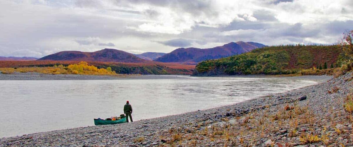 A float trip on the Noatak River in Alaska