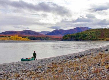 A float trip on the Noatak River in Alaska