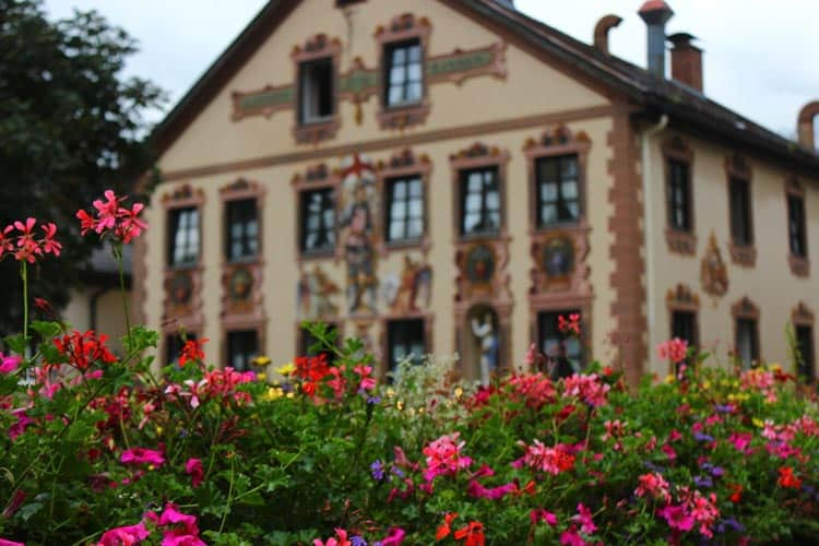 Natural beauty is everywhere in this Bavarian town