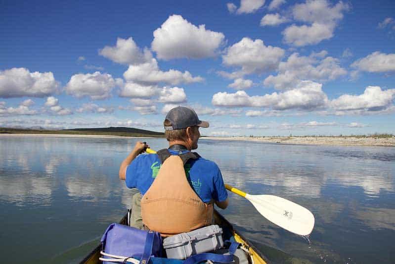 Float trip on the Noatak River in Alaska