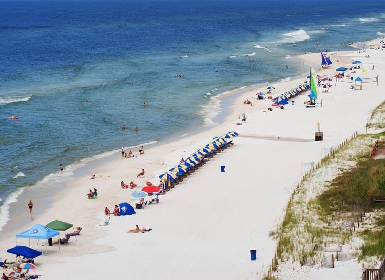 Enjoying beaches in Panama City, FL