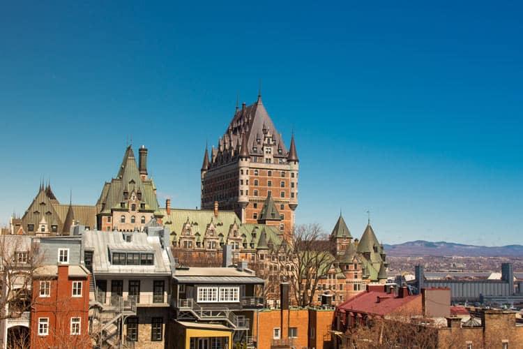 Overlooking Quebec