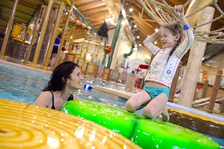 Waterpark meets ropes courses and other family activities at Great Wolf Lodge