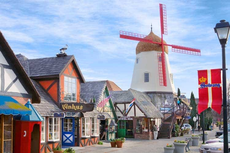 Solvang, California was founded by Danish settlers