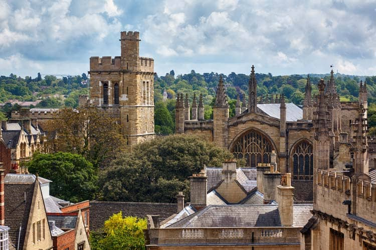 View of Winchester College