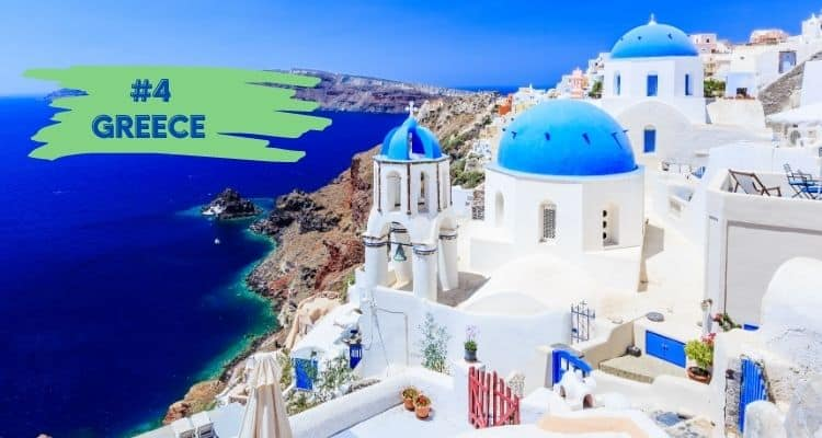 Greece is a top destination for when travel resumes