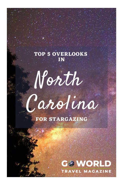 Stargazing in North Carolina: Want to find the best places for stargazing in North Carolina? Take  a peek at these five destinations in North Carolina #stargazing #astrotourism #NorthCarolina #HikingNorthCarolina