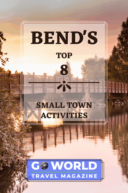 Bend, Oregon: Want to know where you can visit the last Blockbuster Video, explore caves, picnic by a waterfall and explore a ranch? Check out Bend, Oregon to do all these activities and more. #Bend #LastBlockbusterVideo #OregonOutdoors #BendOregon