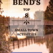 Bend: Want to have a small town adventure in Oregon? Find Oregon's Top 8 Small Town Activities #BendOregon #OregonOutdoors #Gelato #BendsBlockbusterVideo