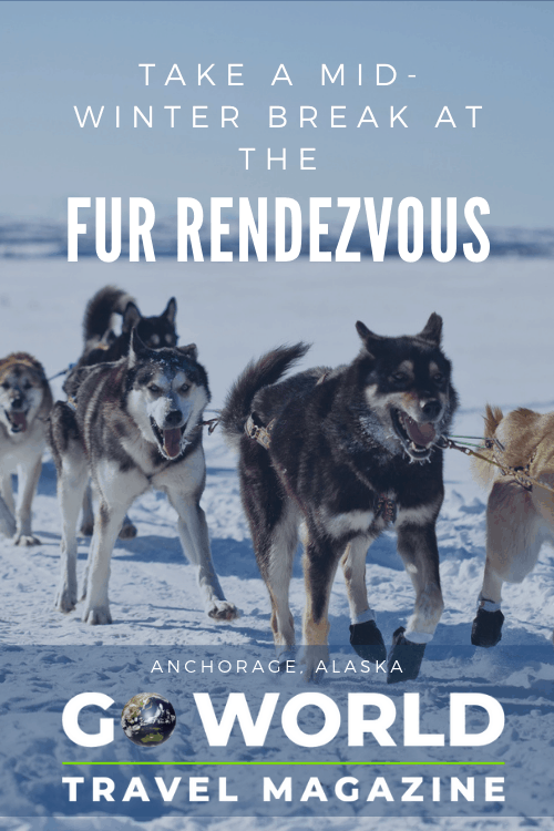 The Fur Rendezvous Festival in Anchorage celebrates the fur trade traditions of Alaska and provides a fun mid-winter break from cabin fever.