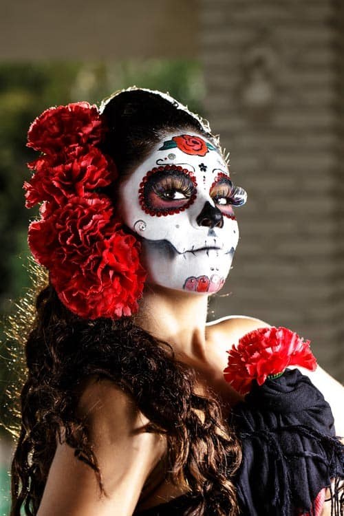 A beautiful Day of the Dead Catrina. CC Image by iivangm